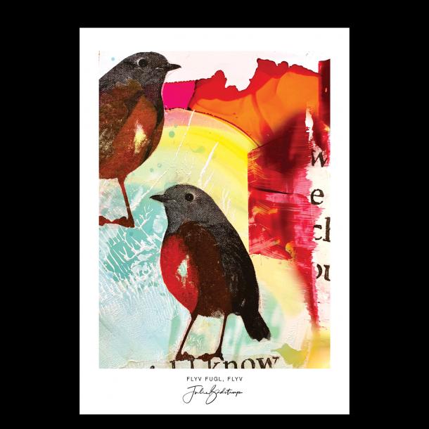 Flyv fugl, flyv - Julie Bidstrup