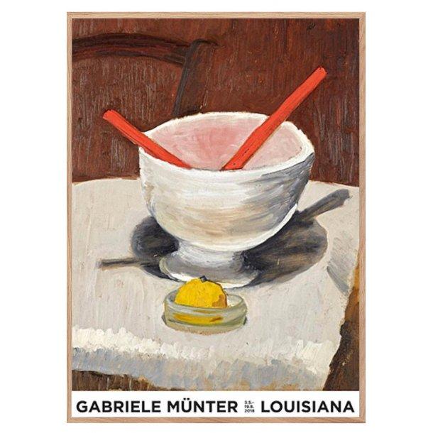 Gabriele Münter: Still Life With Red Salad Servers, 1930