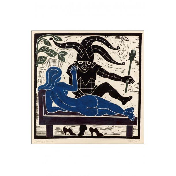Heerup, 4. Kvinden og narren