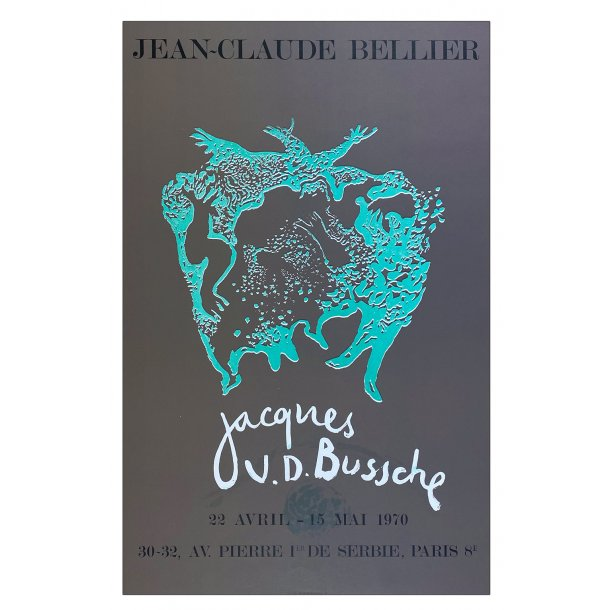 Jacques V.D Busches (Original litografi plakat)
