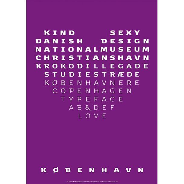 Olsen, Typeface København - Serie 1 / 1