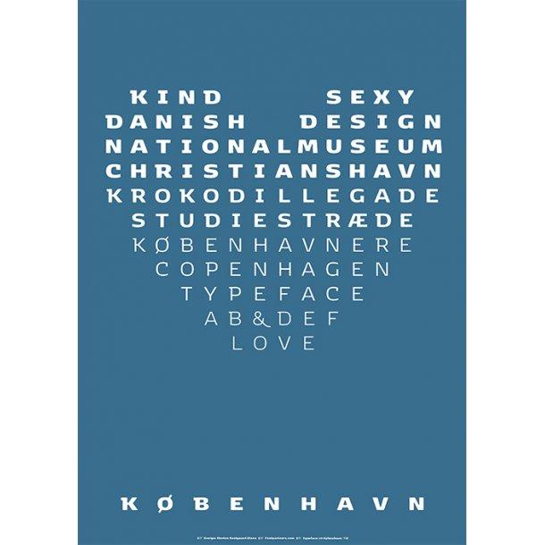 Olsen, Typeface København - Serie 1 / 4