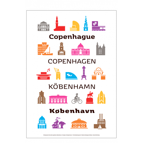 Fontpartners, Pictograms from the typeface København / 1