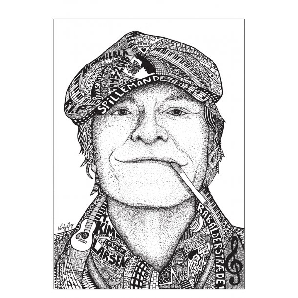 Kim Larsen illustration