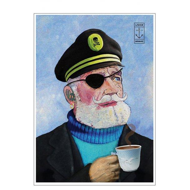 Kaptajn med mågekop