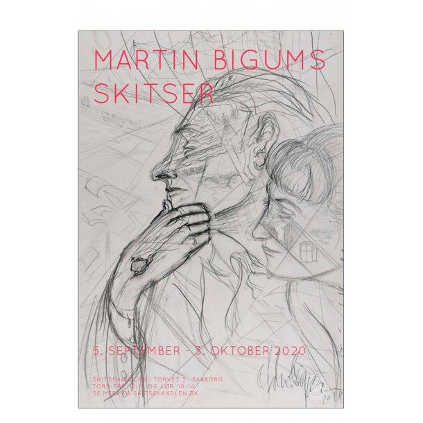 Man and woman, light. Bigums skitser i Skitsehandlen