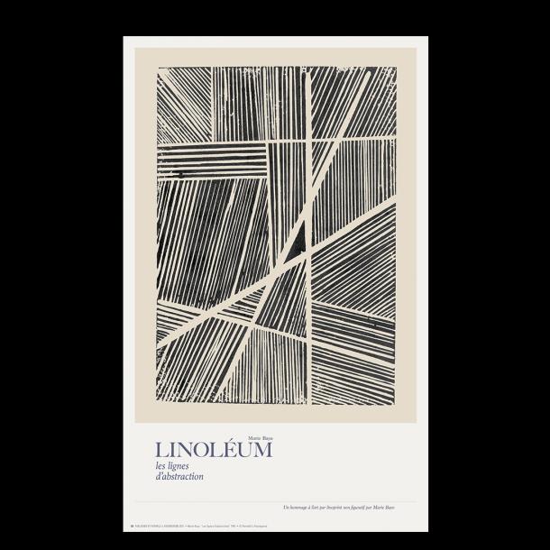 Linoléum, les lignes d'abstraction