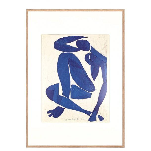 Smart Nu bleu | Matisse Nu bleu fra 1952 med passepartout og ramme XN25
