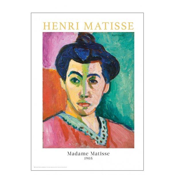 Henri Matisse - Madame Matisse. Den grønne linje