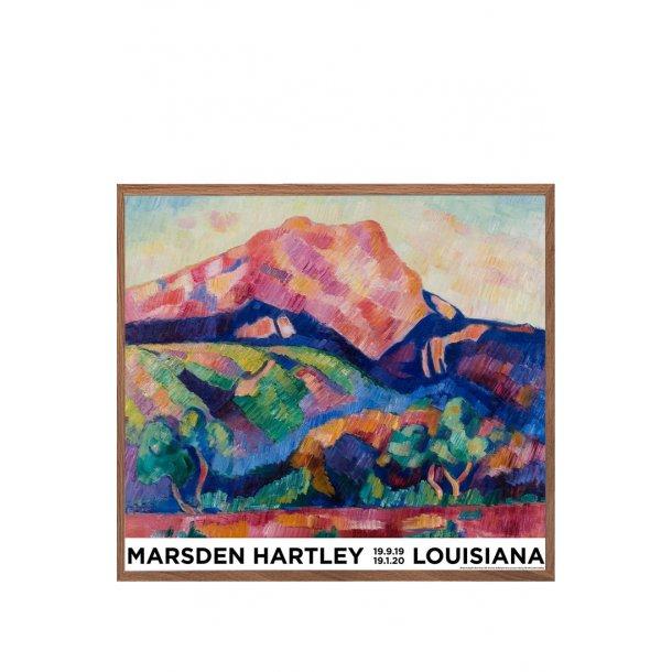 Ramme til Marsden Hartley, Mont Saint-Victoire 1927
