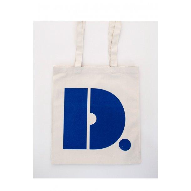 Designmuseum Danmark mulepose. Blå.