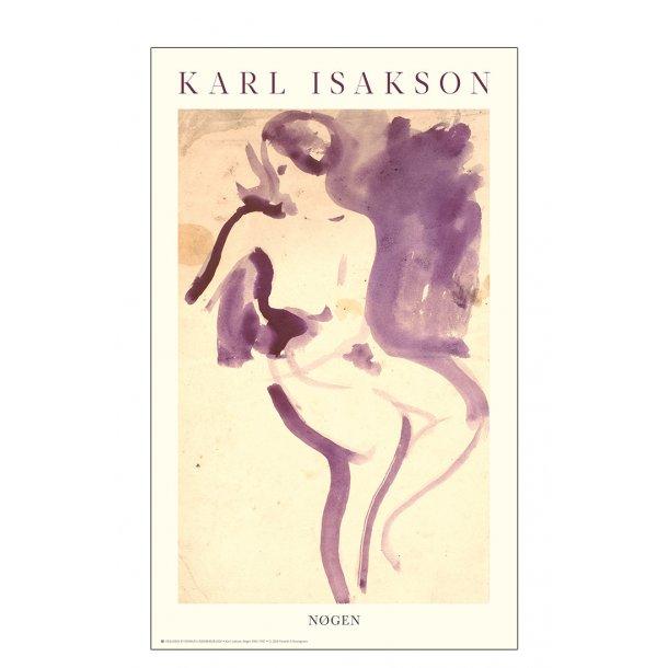 Karl Isakson. Nøgen