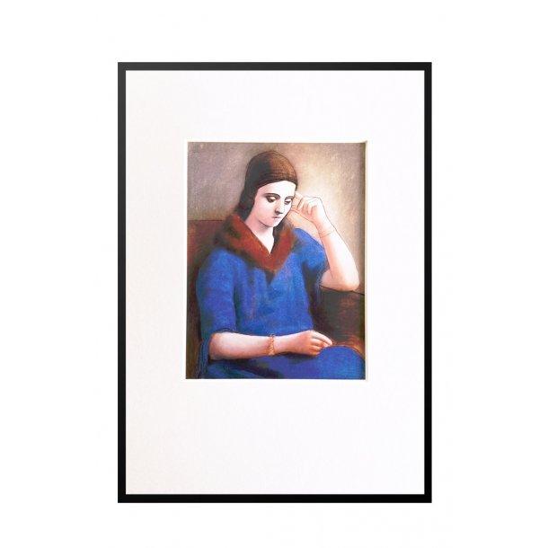 Lille Picasso – Olga pensive, 1923