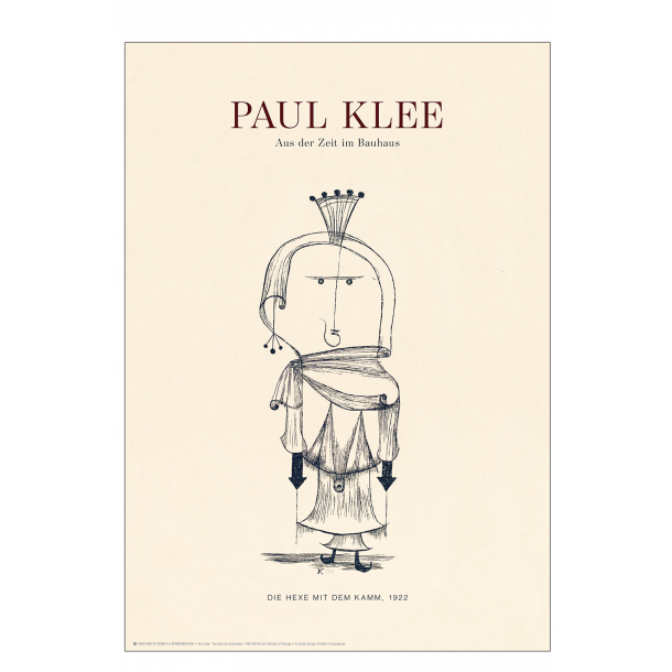 Paul Klee. Die hexe mit dem kamm (Sand)