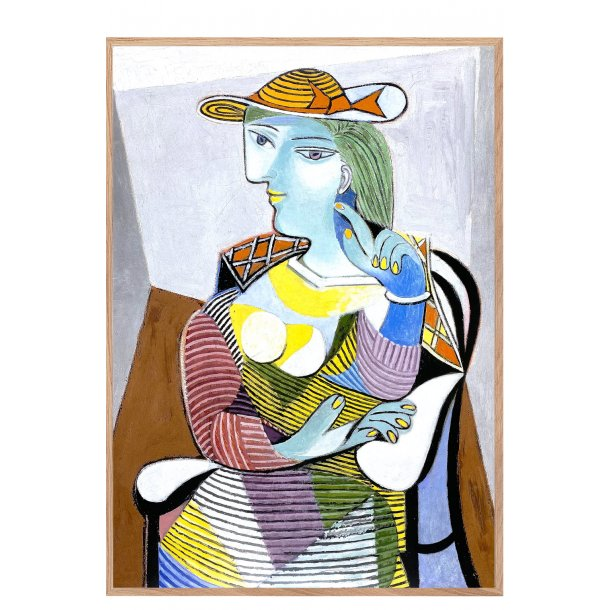 Picasso. Portræt af Marie-Therese