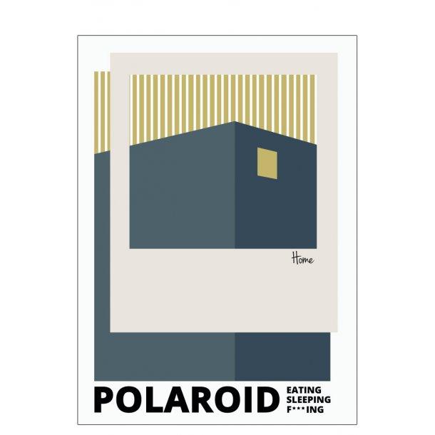 Polaroid – Eating, Sleeping, F***ing, Blue