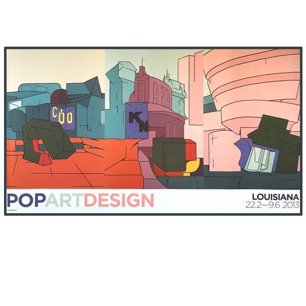 Pop art design, Louisiana