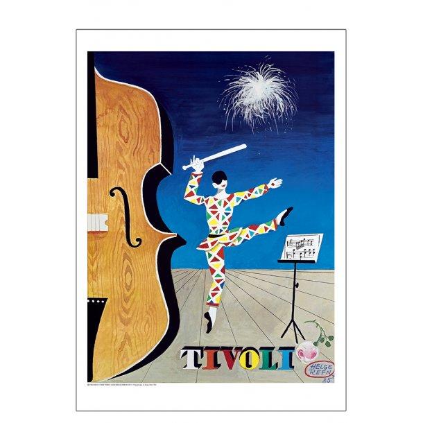 Tivoli 1985 plakat - Refn