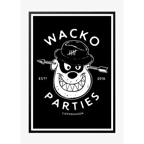 Wacko South 3 - Mørk. Designplakat