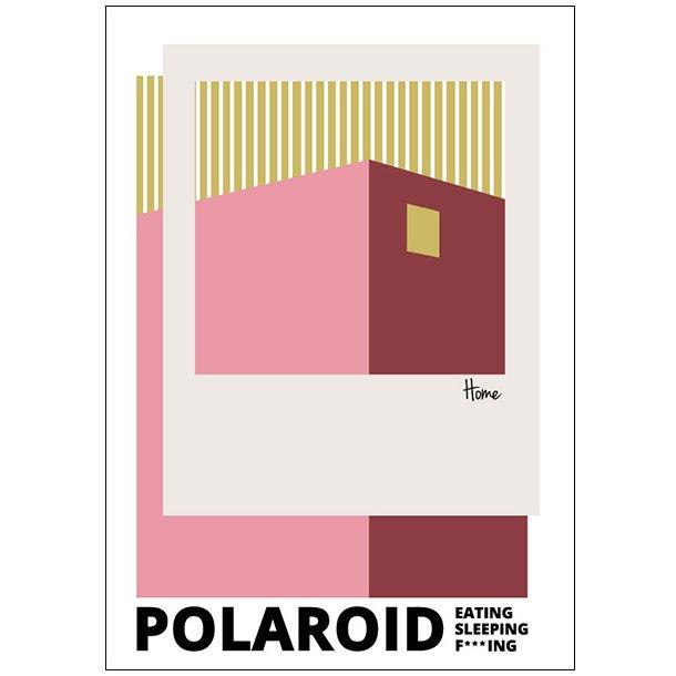 Polaroid – Eating, Sleeping, F***ing, Red