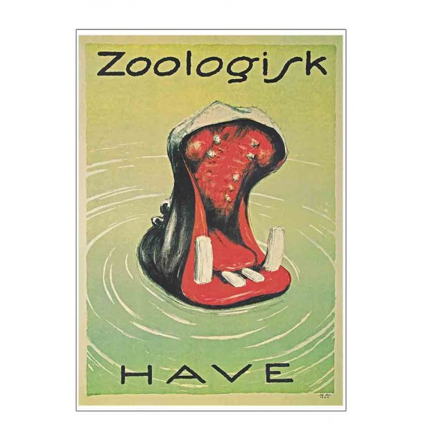 Z 3.- Zoo - Brasch, Flodhest - 1