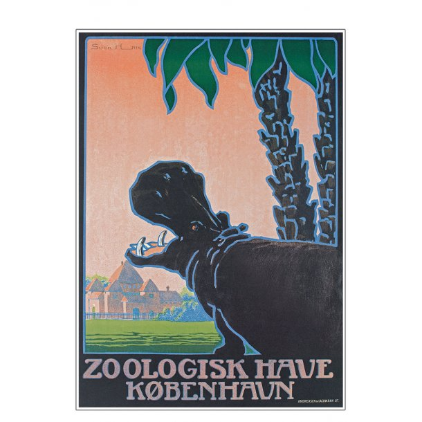 Z 15. - Zoo - Henriksen, Flodhest - 2