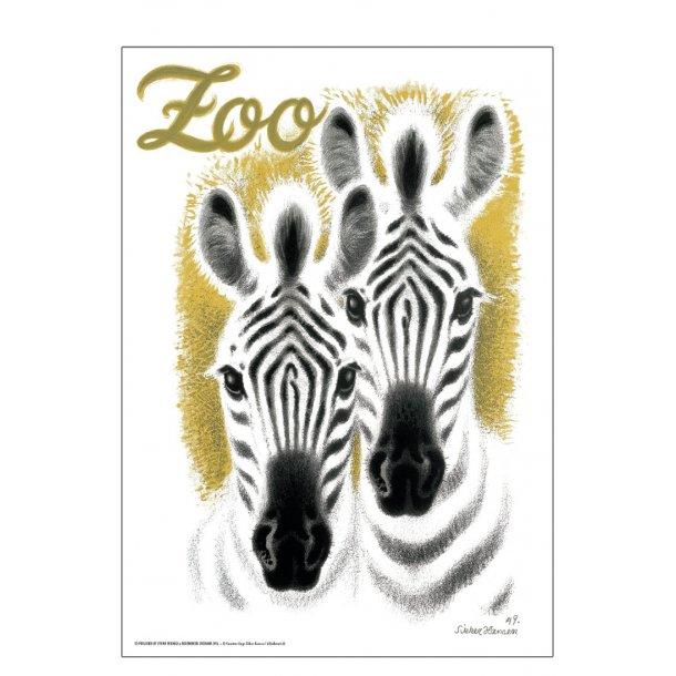 Z 1. - Zoo - Hansen, Aage, AM - Zebraer