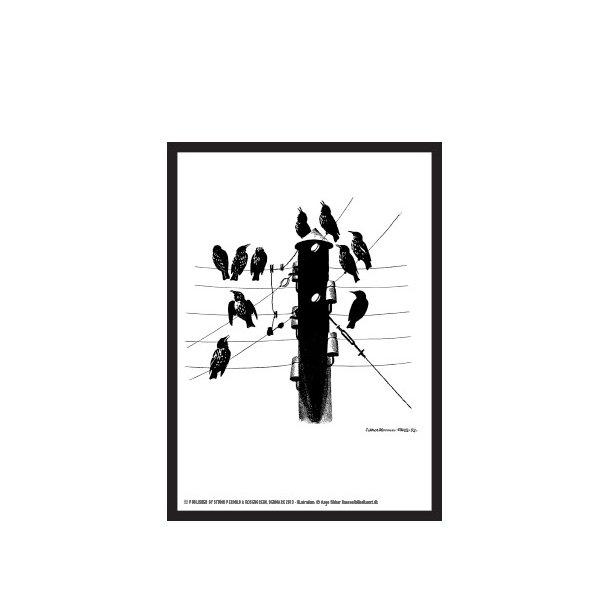 Hansen, Dyrene derude - Fugle i lygtepæl / H 28