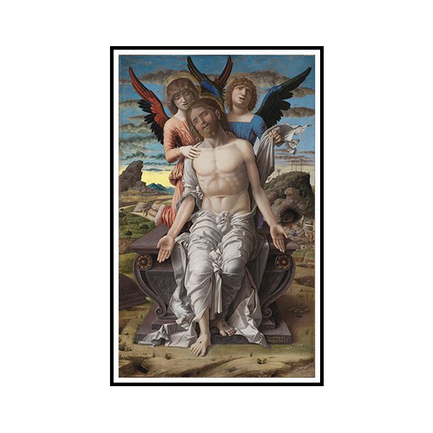 Mantegna, Kristus som den lidende frelser