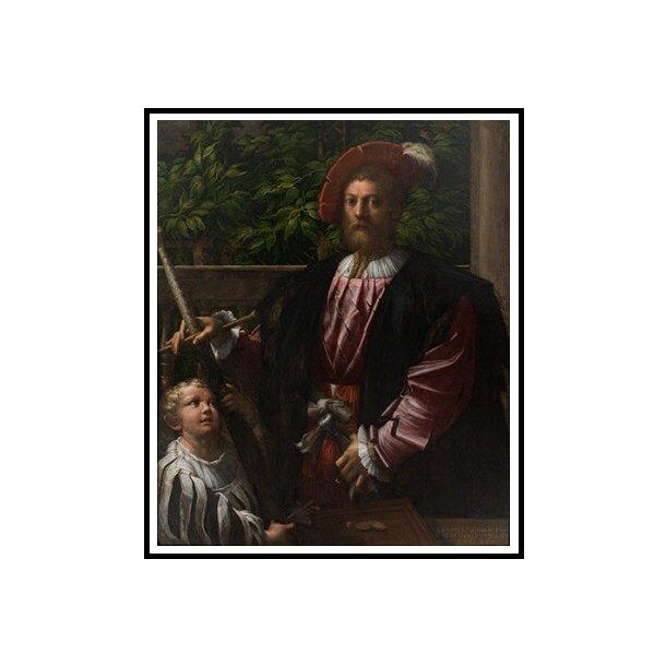 Parmigianino, Portræt af Lorenzo Cybo