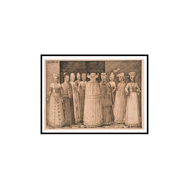 Lorck, Ti kvinder fra Stralsund