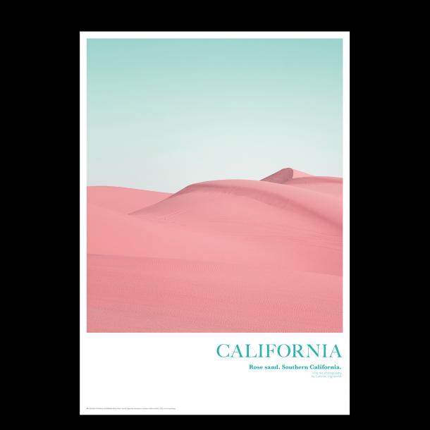 California. Rose sand
