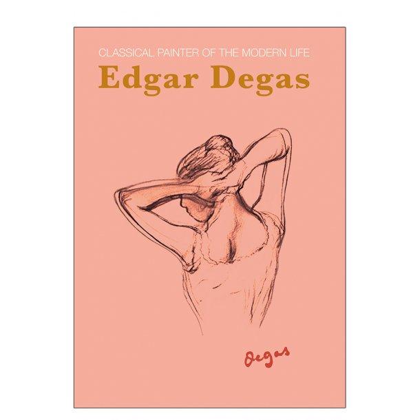 Dame skitse. Degas