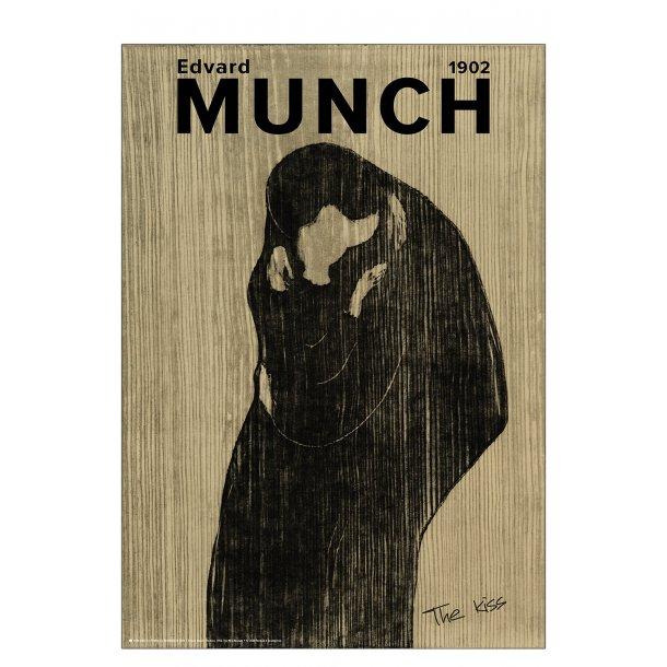 Edvard Munch. Kysset (sand)