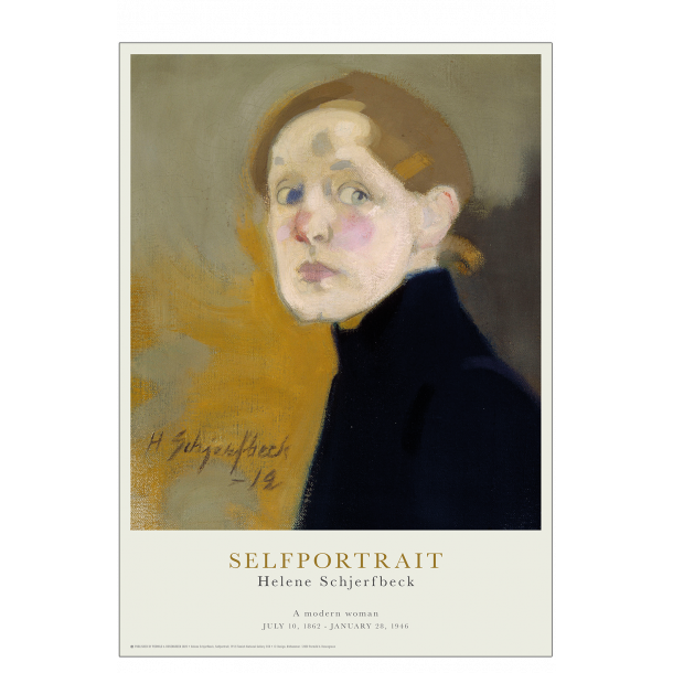 Selfportrait. Helene Schjerfbeck