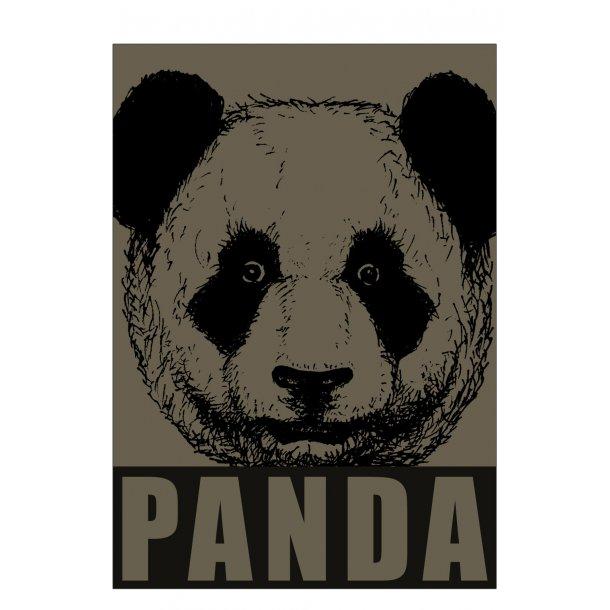 Panda, army grøn. Sebastian Klein