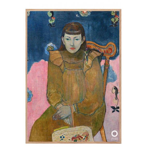 Paul Gauguin. Portræt af ung pige