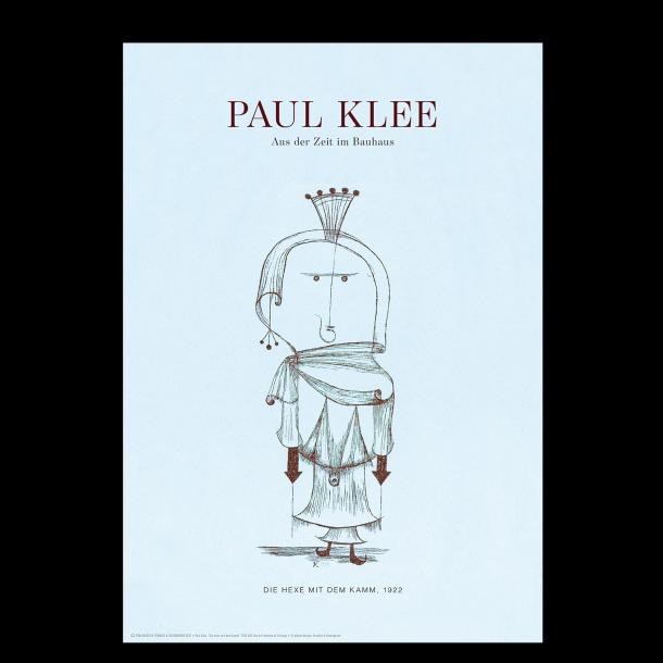 Paul Klee. Die hexe mit dem kamm (Blå)