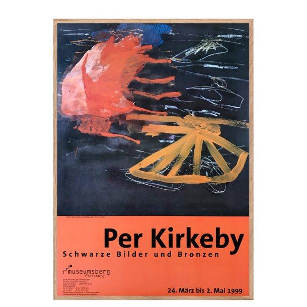 Per Kirkeby - Schwarze Bilder und bronzen
