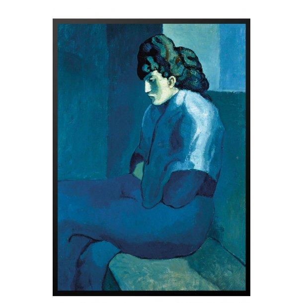 Picasso plakat – Melancholy Woman