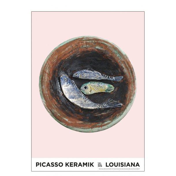 Picasso keramik, rosa