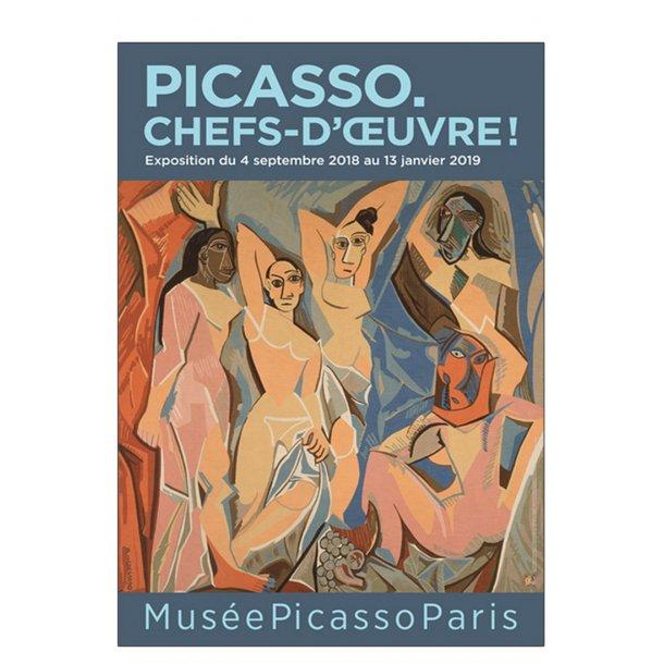Picasso plakat - Picasso Chefs-d'œuvre