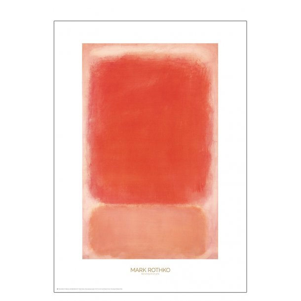 Mark Rothko – Red and pink on pink