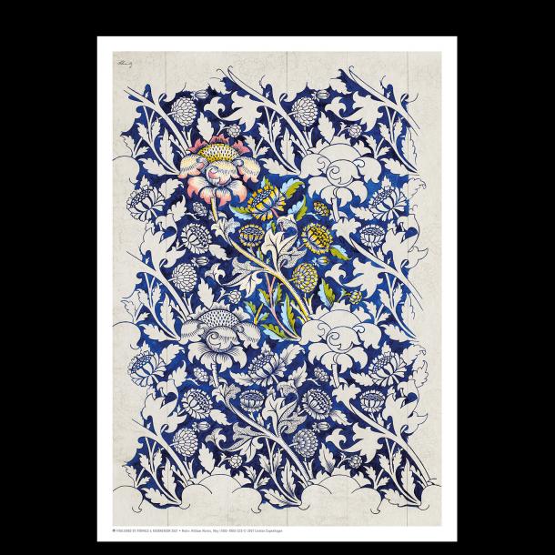 William Morris blue