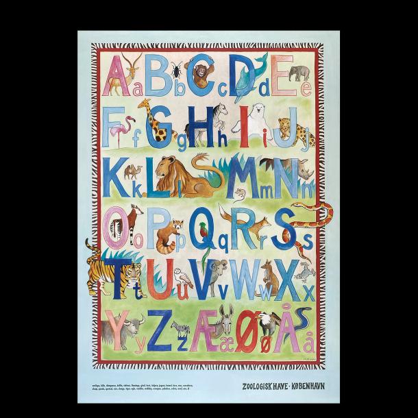 Zoo - Alfabetplakat