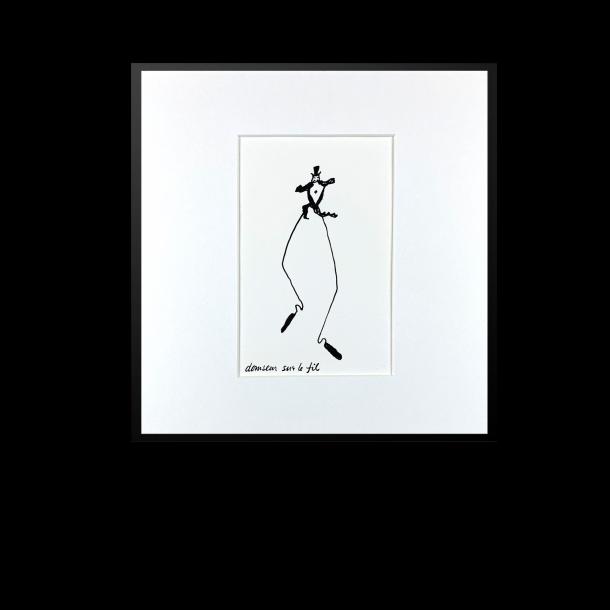 Alexander Calder. Le cirque, Danseur sur le fil