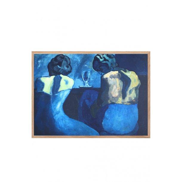 """Picasso plakat – """"Stener i baren"""""""