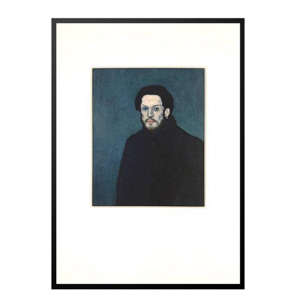 Picasso – Selvportræt, 1901