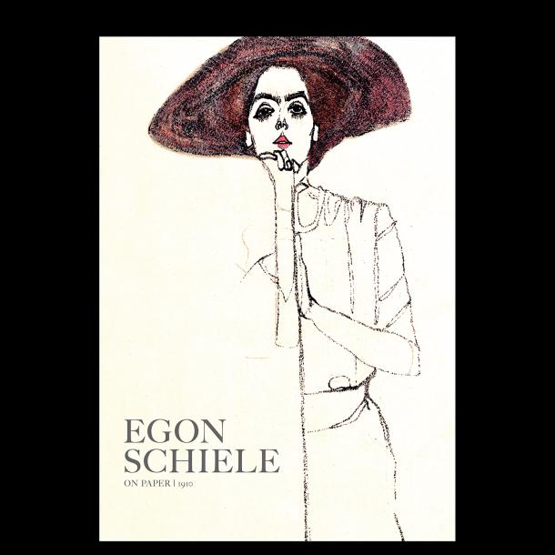 Egon Schiele. Portræt af en kvinde (nr. 2)