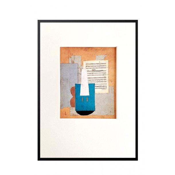 Lille Picasso – Violon et feuille de musique